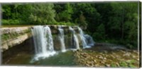 Ludlowville Falls on Salmon Creek, Finger Lakes, New York State Fine Art Print