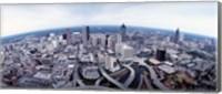 Ariel View of Atlanta, Georgia Fine Art Print