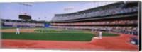 Dodgers vs. Yankees, Dodger Stadium, California Fine Art Print