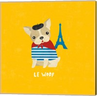 Good Dogs French Bulldog Bright Fine Art Print