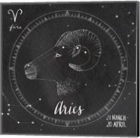 Night Sky Aries Fine Art Print