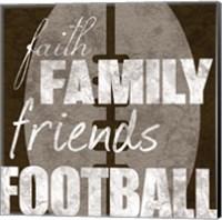 Football Friends Fine Art Print