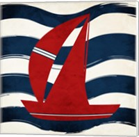 Boat Waves Fine Art Print