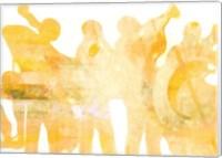 Jazz Band Fine Art Print