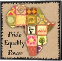 Africa First Word Fine Art Print