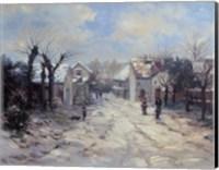 Quaint Village Fine Art Print