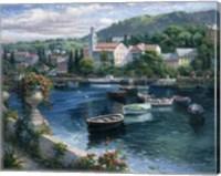 Harbor Boats Fine Art Print