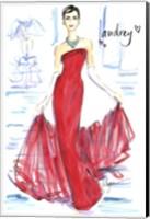 Audrey Awesomeness Fine Art Print