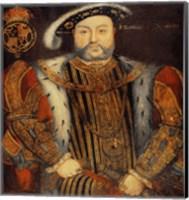 Portrait of Henry VIII E Fine Art Print