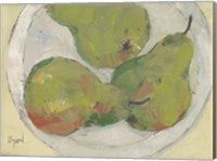 Plate with Pear Fine Art Print