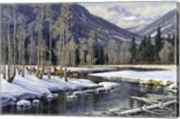 Along The Blackfoot Fine Art Print