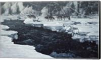Winter Crossing Fine Art Print