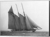 The Schooner Karina at Sail, 1919 Fine Art Print