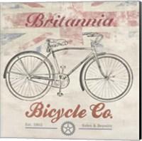 UK Bikes Fine Art Print