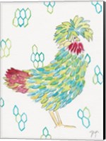 Funky Chicken 1 Fine Art Print