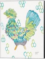 Funky Chicken 2 Fine Art Print