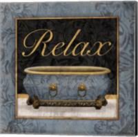 Relaxing Bath Fine Art Print
