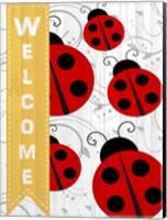 Welcome Ladybug Fine Art Print
