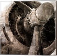 Tarnished Aircraft Fine Art Print