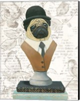 Canine Couture Newsprint III Fine Art Print