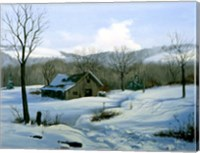 Winter Landscape 1 Fine Art Print