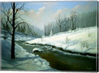 Winter Landscape 4 Fine Art Print