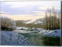 Winter Landscape 5 Fine Art Print