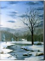 Winter Landscape 6 Fine Art Print