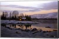 Winter Landscape 13 Fine Art Print