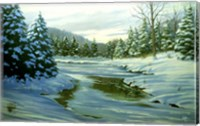 Winter Landscape 14 Fine Art Print