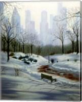 Winter in the Park Fine Art Print