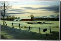 Winter Landscape 17 Fine Art Print