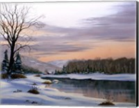 Winter Landscape 19 Fine Art Print