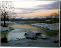 Winter Landscape 23 Fine Art Print