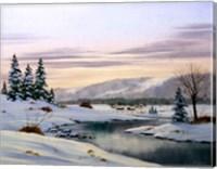 Winter Landscape 31 Fine Art Print