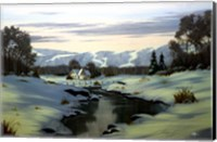 Winter Landscape 34 Fine Art Print