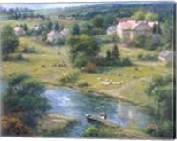 Grazing Fields Fine Art Print