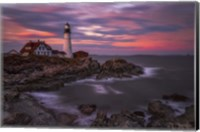 Portland Head Sunset Fine Art Print