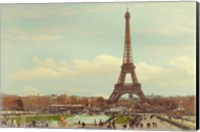Eiffel Tower with Jardin du Trocadero Fine Art Print