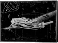 Flight Schematic II Fine Art Print