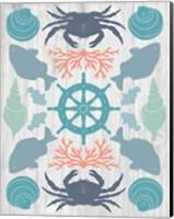 Coastal Otomi IV on Wood Fine Art Print