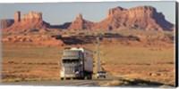 Highway, Monument Valley, USA Fine Art Print
