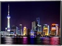 Shanghai at Night Fine Art Print