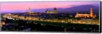 Florence at Night Fine Art Print