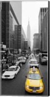 Taxi in Manhattan, NYC Fine Art Print
