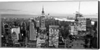 Aerial View of Manhattan, NYC 1 Fine Art Print