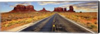 Road to Monument Valley, Arizona Fine Art Print