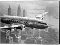 Aircraft Flying over City, 1946 Fine Art Print
