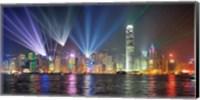 Symphony of Lights, Hong Kong Fine Art Print