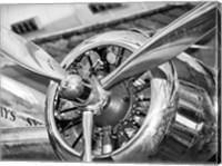 Vintage Airplane Propeller Fine Art Print